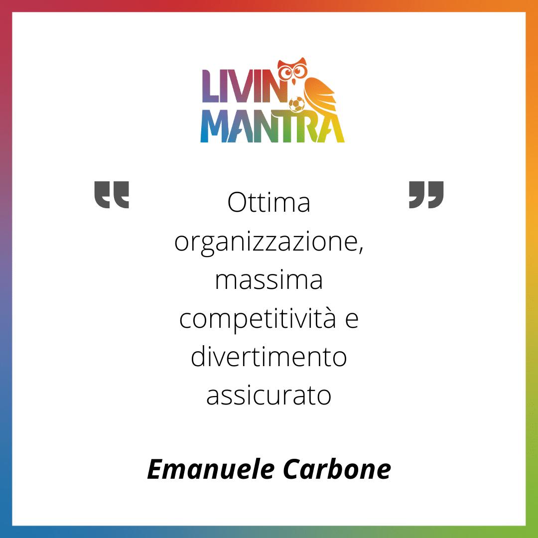 Emanuele Carbone - Citazione 2020