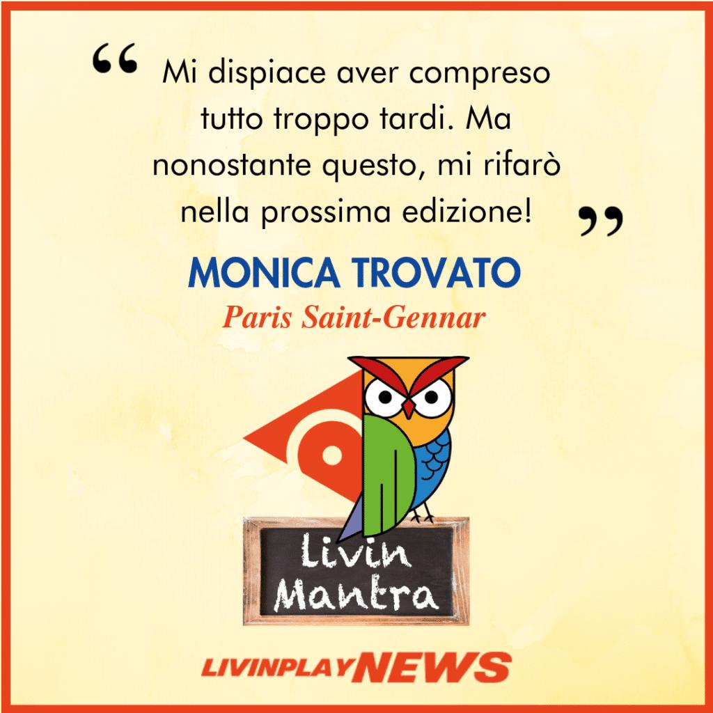 Monica Trovato - Citazione 2019