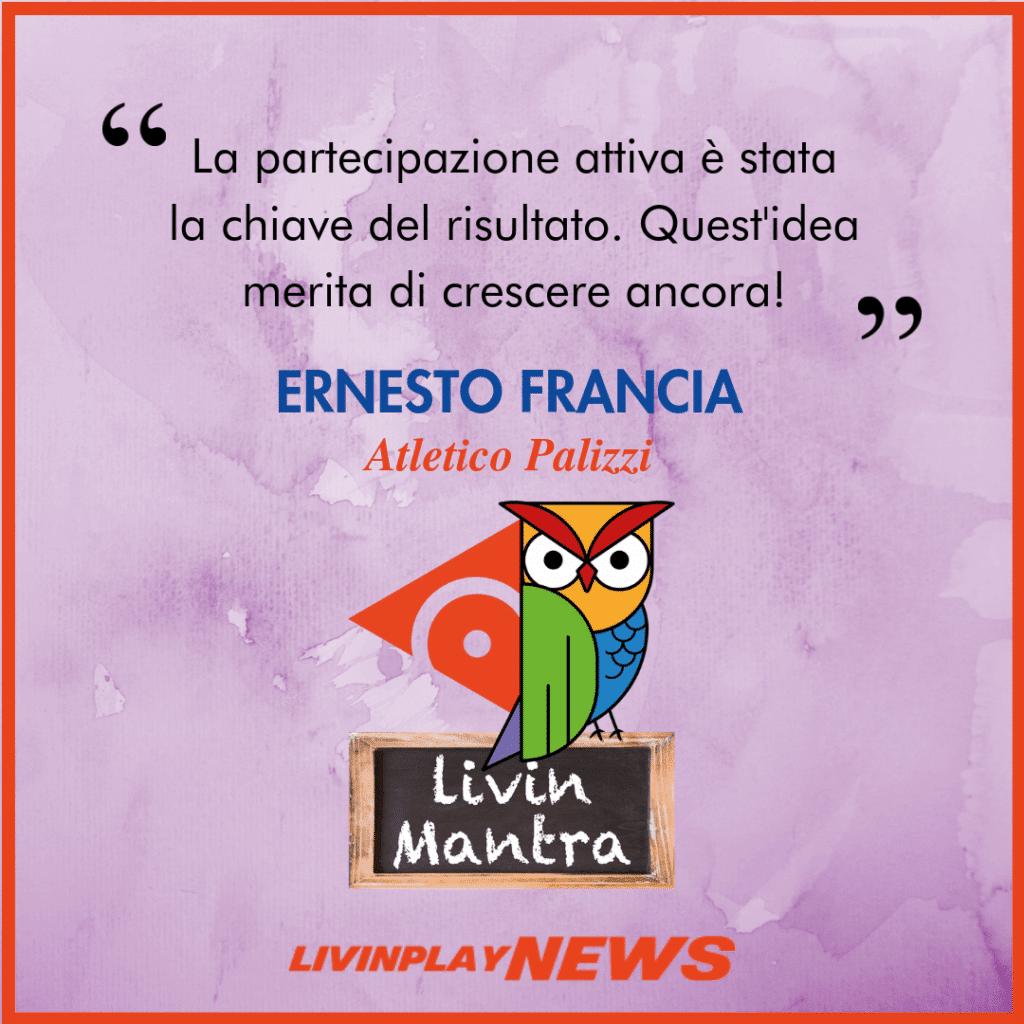 Ernesto Francia - Citazione 2019