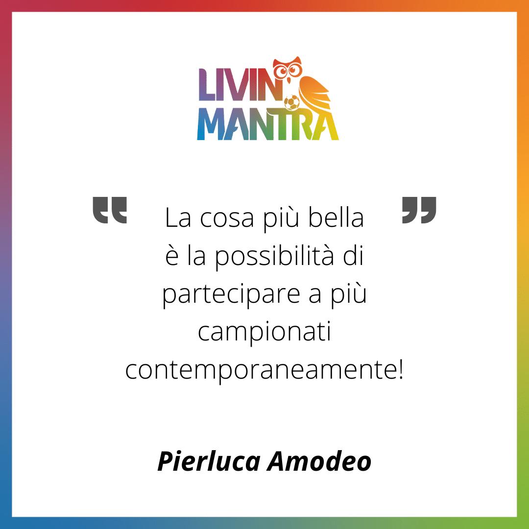 Pierluca Amodeo - Citazione 2020