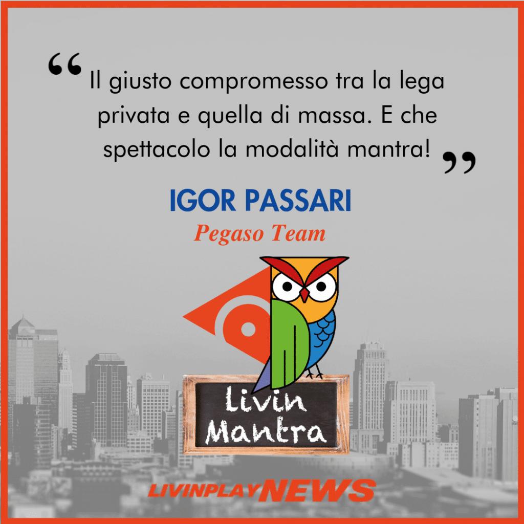 Igor Passari - Citazione 2019