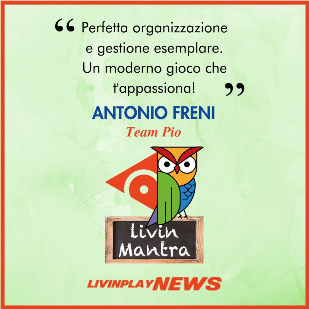 Antonio Freni - Citazione 2019