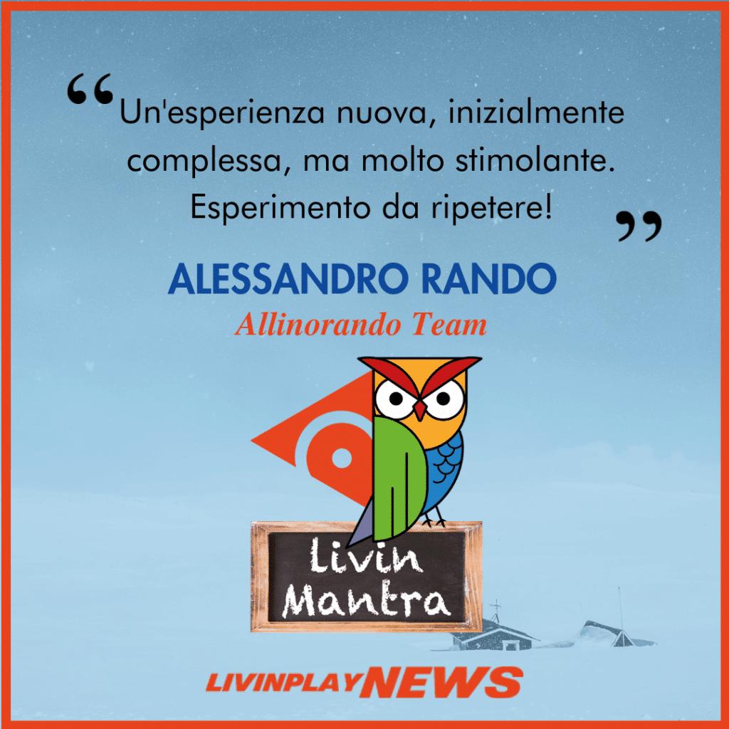 Alessandro Rando - Citazione 2019