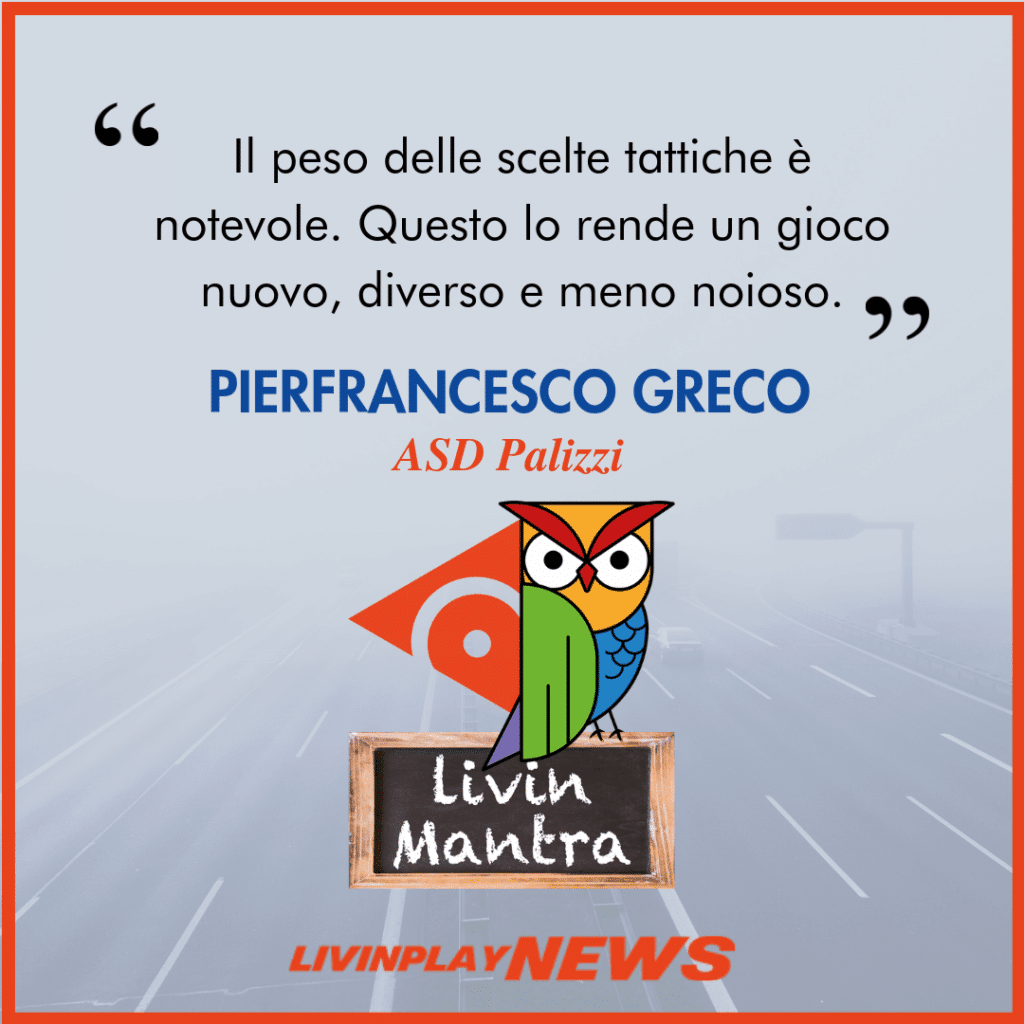 Pierfrancesco Greco - Citazione 2019