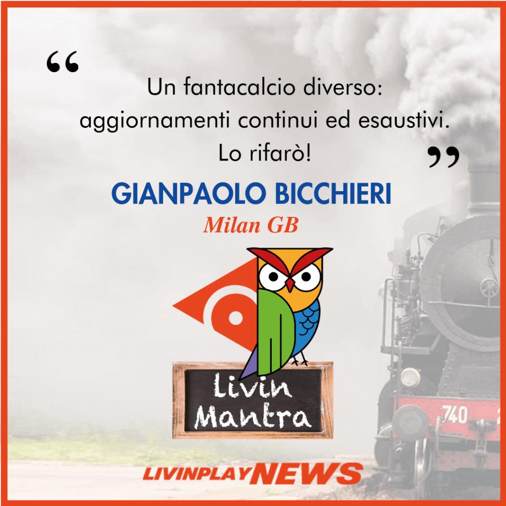 Gianpaolo Bicchieri - Citazione 2019