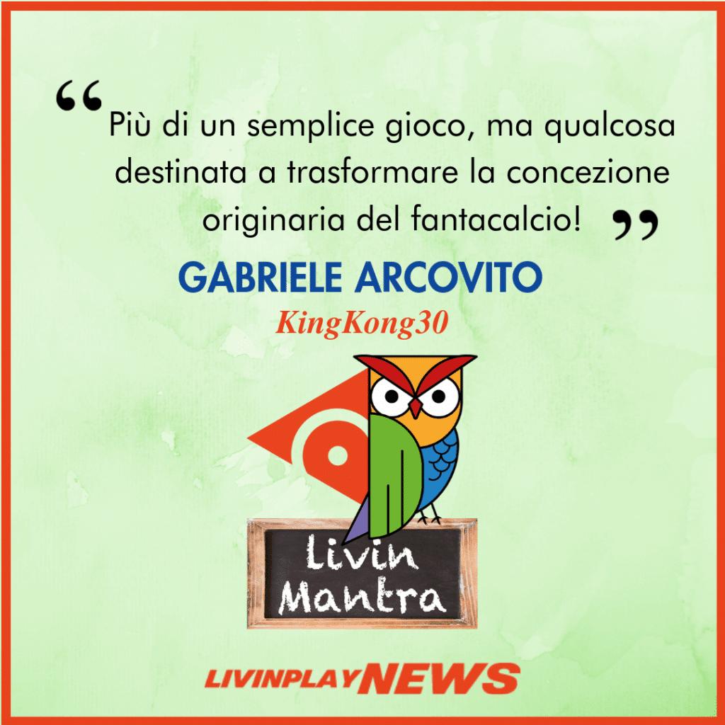 Gabriele Arcovito - Citazione 2019