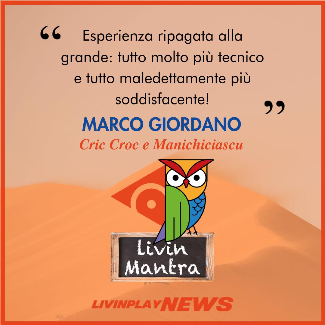 Marco Giordano - Citazione 2019