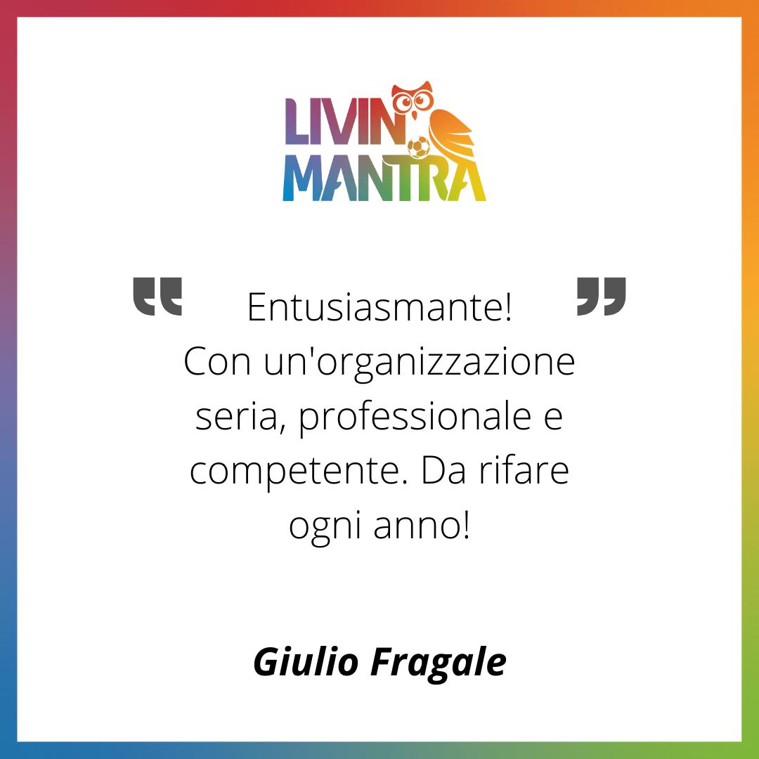 Giulio Fragale - Citazione 2020