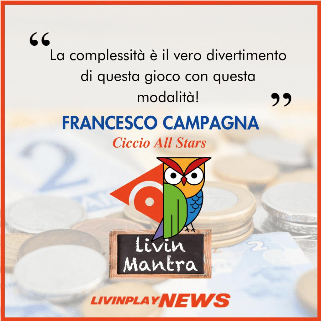 Francesco Campagna - Citazione 2019