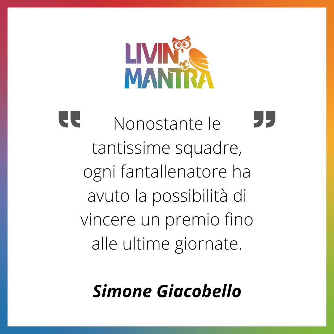 Simone Giacobello - Citazione 2020