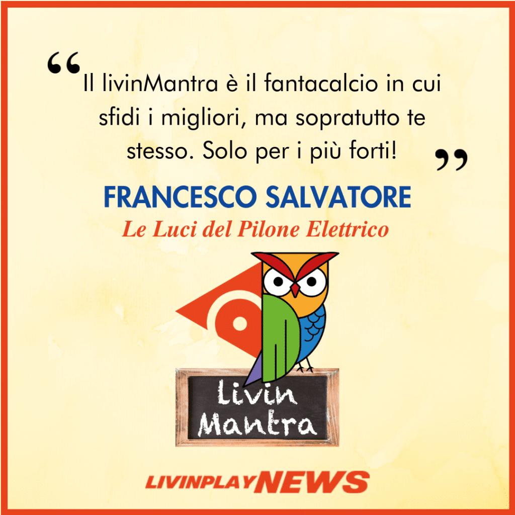 Francesco Salvatore - Citazione 2019