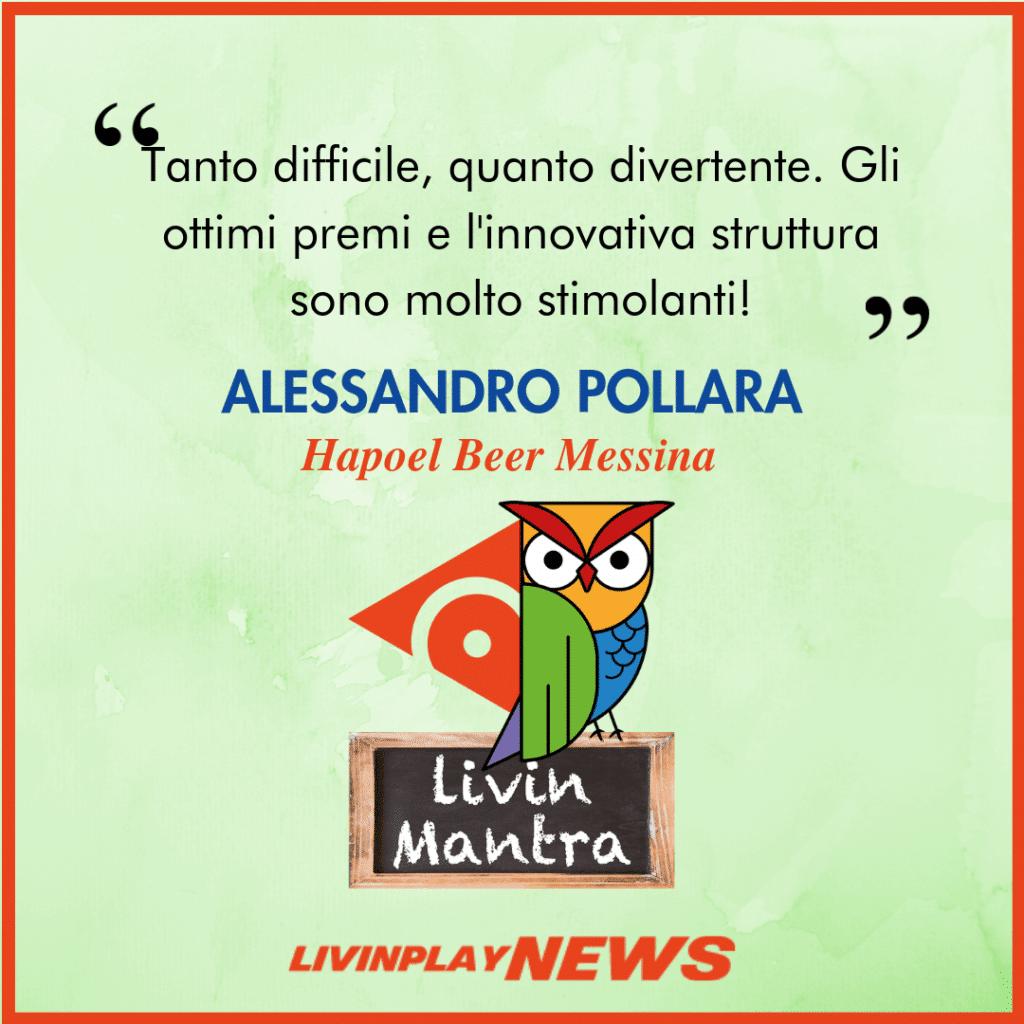 Alessandro Pollara - Citazione 2019