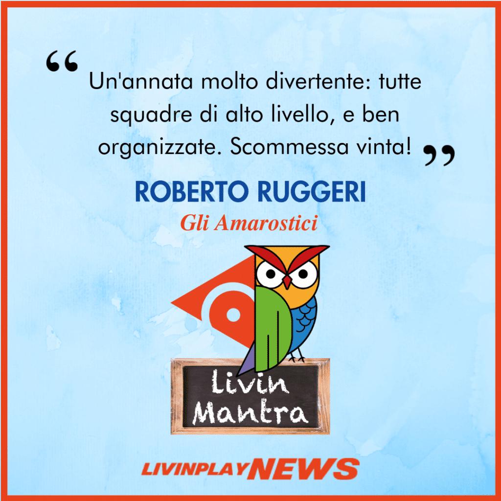 Roberto Ruggeri - Citazione 2019