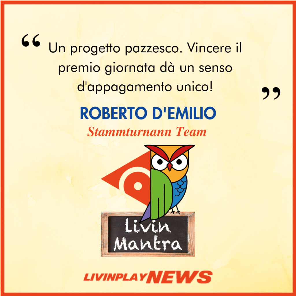 Roberto D'Emilio - Citazione 2019