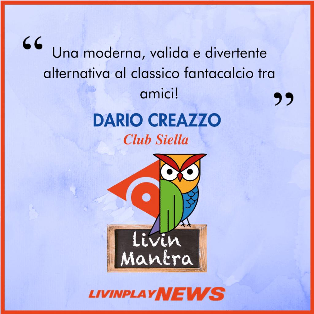 Dario Creazzo - Citazione 2019