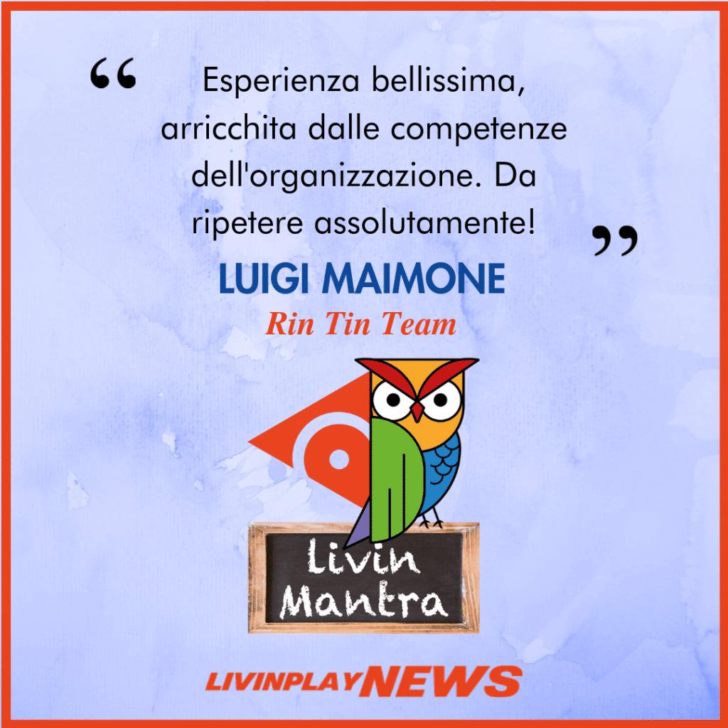 Luigi Maimone - Citazione 2019