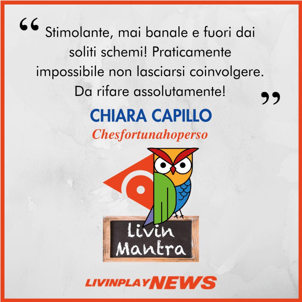 Chiara Capillo - Citazione 2019
