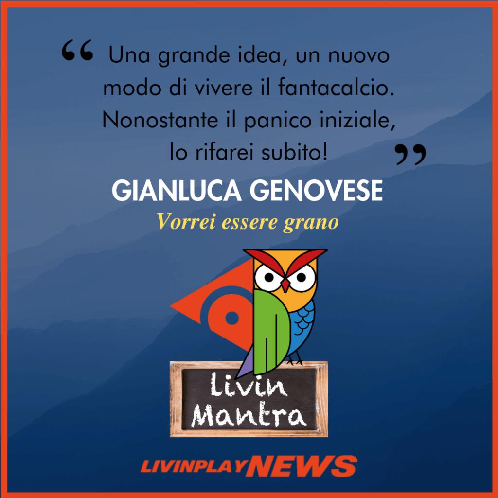 Gianluca Genovese - Citazione 2019