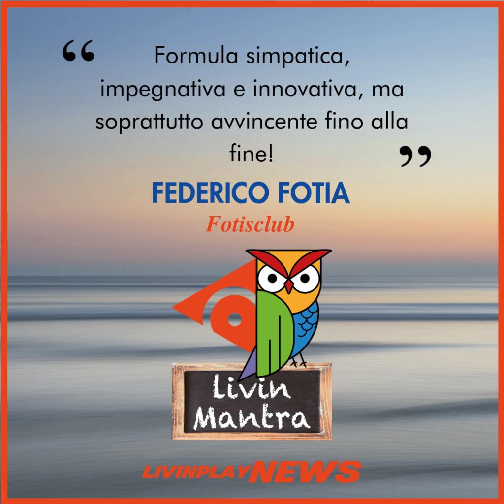Federico Fotia - Citazione 2019