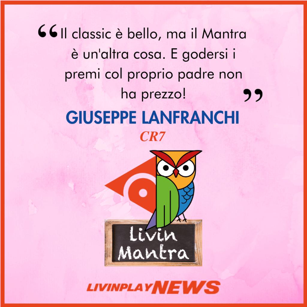 Giuseppe Lanfranchi - Citazione 2019